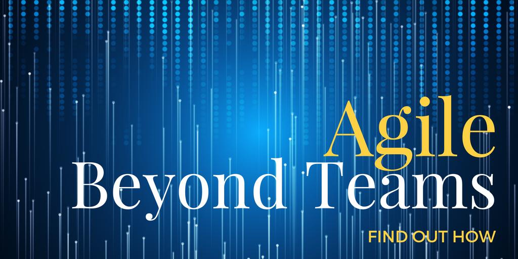 Agile Beyond Teams