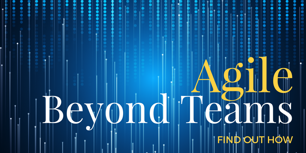 Agile Beyond Teams