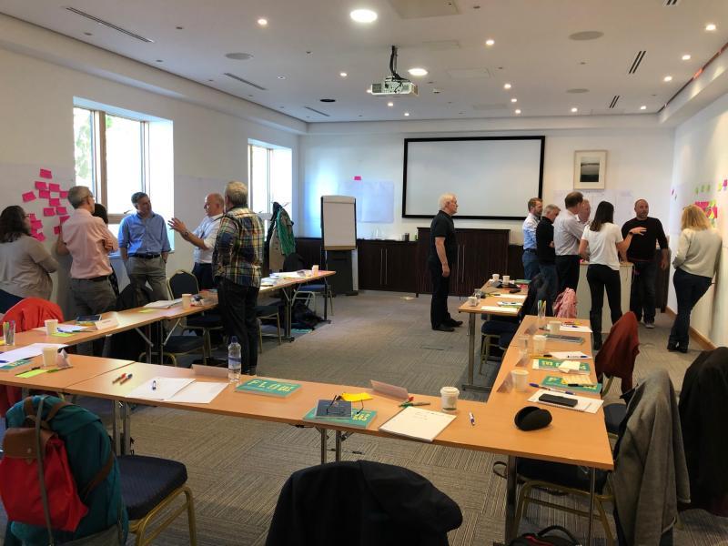 Flow Academy workshop in Dublin Ireland