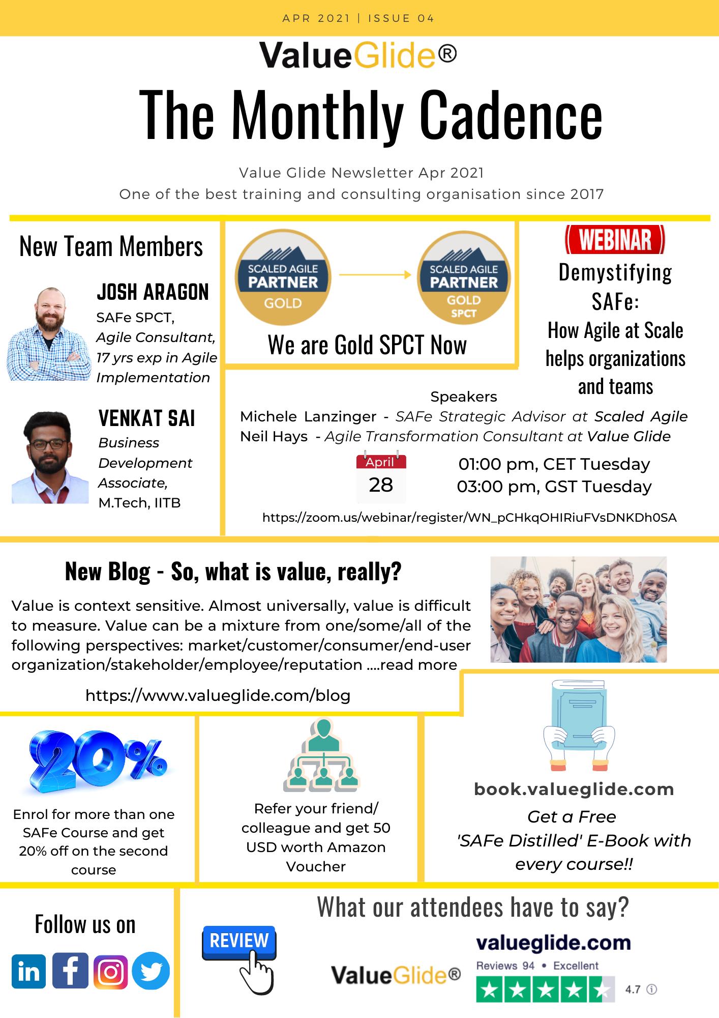 VG NewsLetter Apr